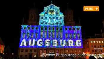 """150 Scheinwerfer setzen bei den """"Light Nights"""" Augsburgs Innenstadt in Szene"""