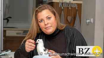 Inga Gröschler setzt sich für den Schutz von Tauben ein