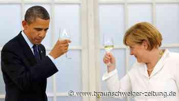 Angela Merkel: So liebevoll bedankt sich Obama bei ihr