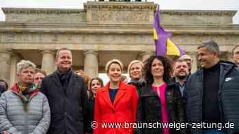 Auftakt rot-grün-rote Koalitionsverhandlungen in Berlin