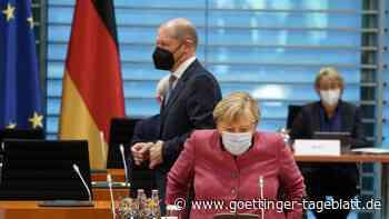 """Merkel vor Machtwechsel: Kann mit Scholz als Bundeskanzler """"ruhig schlafen"""""""