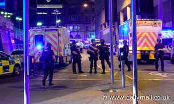 Man, 24, is arrested for terror offences by detectives investigating the Manchester Arena bombing