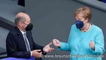 Merkel sieht Machtwechsel im Kanzleramt entspannt entgegen