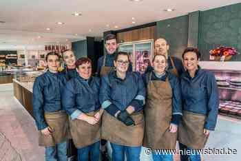 Slagerij Koen en Veerle breiden zowel winkel als atelier uit na verhuis van bakkerij Wivine - Het Nieuwsblad