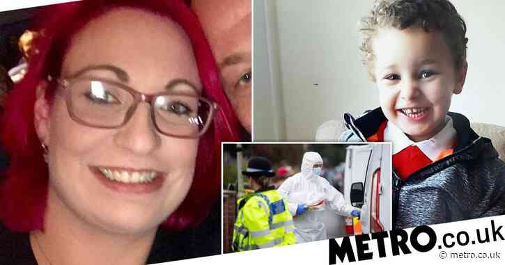 Mum in court accused of murdering son, 5, who was found dead in a river
