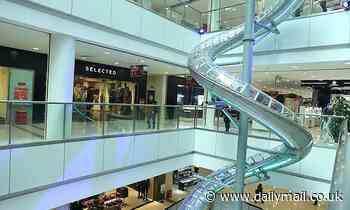 Deniz Mall slide in Azerbaijan leaves daredevil terrified [Video]