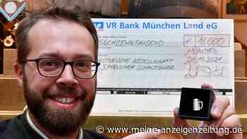 Spendiermass-Aktion: Wie Anton Kölbl 16.000 Euro für Schausteller sammelte