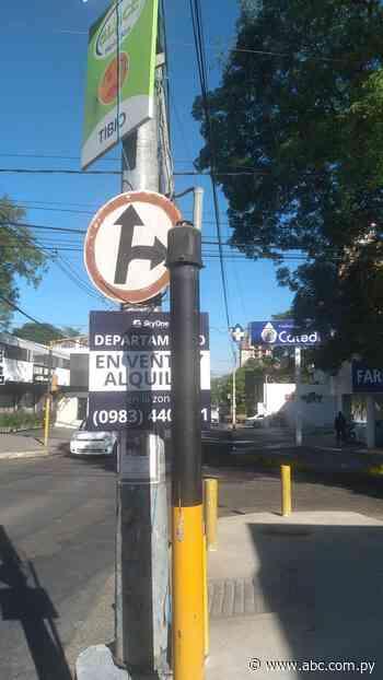 Semáforos amanecen sin cabezales en Asunción y comuna presume que son vendidos a locales nocturnos - ABC Color