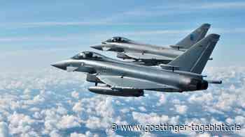 Funkkontakt zu Passagierflugzeug weg: Eurofighter nehmen Verfolgung auf und verursachen Knall bei Frankfurt