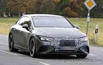 FOTOESPIONAJE: Comienza la andanada de Mercedes eléctricos y alborotados. Este es el AMG EQE - Revista Motor y Volante