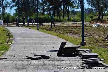 Las obras no paran en Mercedes - Interior - CorrientesHoy.com