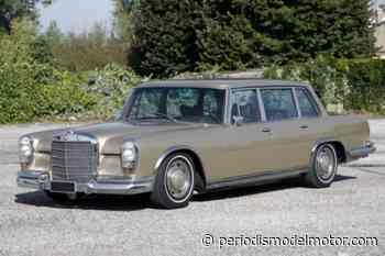 A subasta este precioso Mercedes-Benz 600 limousine de 1968 - Periodismo del Motor