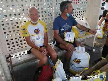 """Ultramarathonloper Kamiel (75) moet opgeven na 66 kilometer: """"Vijf minuten te laat"""""""