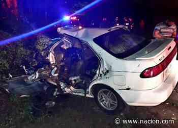 Profesor muere en accidente de tránsito en Monterrey de San Carlos - La Nación Costa Rica