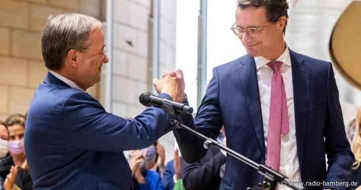 NRW-CDU wählt neuen Vorsitzenden: Wüst soll Laschet beerben