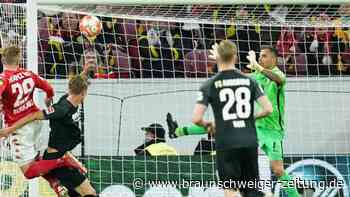 Augsburg-Torwart Gikiewicz tobt nach 1:4 in Mainz