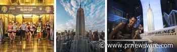 Empire State Building Run-Up apresentada pela Turkish Airlines com o apoio da Challenged Athletes Foundation retorna em 26 de outubro