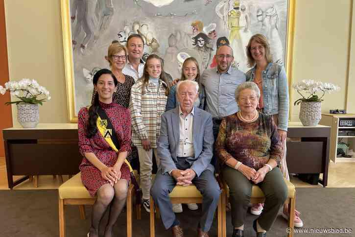 Michel (87) en Godelieve (85) vieren briljanten huwelijk