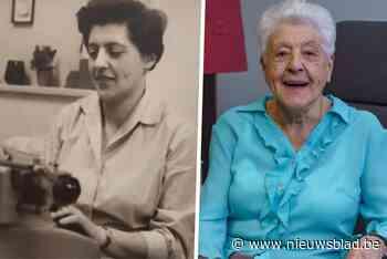 """""""Het was 1947 toen ik begon"""": Angèle (99) was 40 jaar lang directiesecretaresse bij Het Volk"""