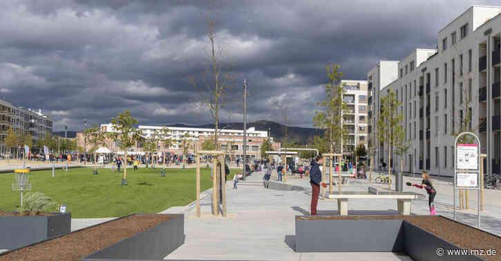 Heidelberg:  Ist dieser neue Bahnstadt-Platz eine Betonwüste?