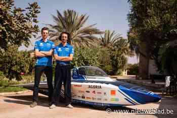 """Bruggelingen Gilles en Joren racen met zonnewagen door Saharawoestijn: """"We zullen veel bekijks hebben"""""""