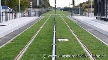 Die Rollrasentrasse in Augsburg ist eine Entgleisung