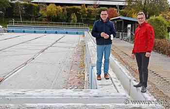 Freibad: Beckenkopfsanierung hat begonnen - Arnstorf - Passauer Neue Presse