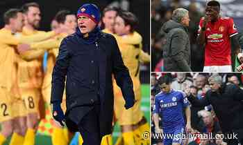 Jose Mourinho is no stranger to throwing his players under the bus after savaging his Roma squad