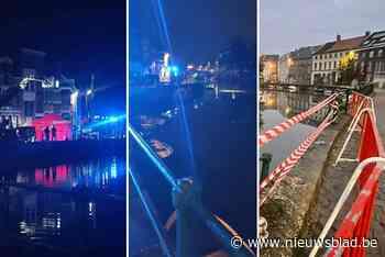 Drie mannen en één vrouw om het leven gekomen nadat auto in water belandde in Gent