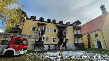 """Feuer-Tragödie in Bayern: Drei Frauen und ein Baby sterben - """"Mir fehlen noch immer die Worte"""""""