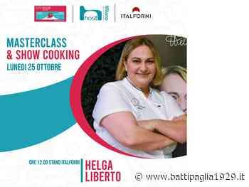 La chef battipagliese Helga Liberto protagonista all'Host Milano 2021 - Battipaglia 1929