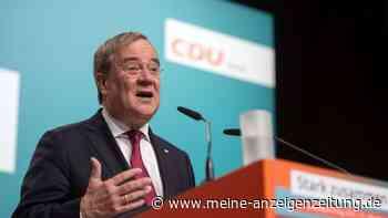 """NRW-Parteitag der CDU: Kurz vor seiner Ablöse nennt Laschet Krisenszenarien """"völligen Unsinn"""""""