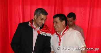 Cartes y Abdo sellarán mañana la unidad colorada en Ybycuí - La Nación.com.py