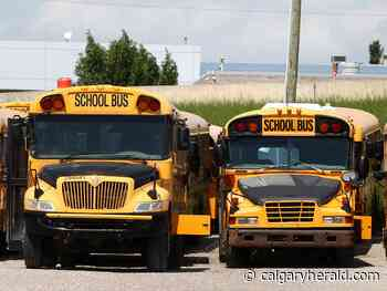 Insurance increases putting Alberta school bus service in jeopardy: contractor association - Calgary Herald