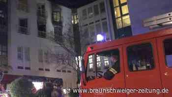 Feuer in Patientenzimmer der Uniklinik Gießen