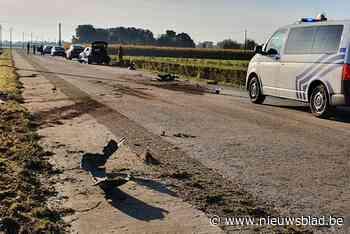 Drie wagens beschadigd na ongeval door inhaalmanoeuvre in Jonkershove