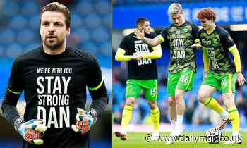 Norwich City stars don 'Stay strong Dan' t-shirts ahead of Chelsea clash