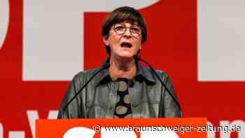 SPD-Chefin Esken: Sondierungspapier ist nicht gelb