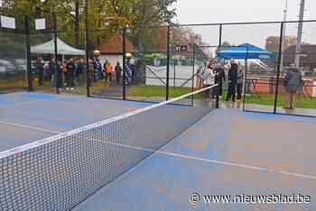 Padelpleinen op gesaneerde grond bij Tennisclub Metallic in Overpelt-Fabriek<BR />