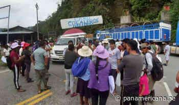 Puerto Maldonado: cocaleros atacan vehículos... - Panamericana Televisión