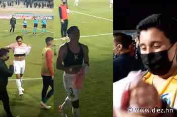 El detallazo del hondureño Denil Maldonado con un pequeño seguidor del Everton de Chile - Diez.hn