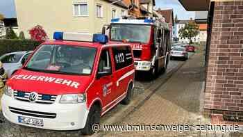 Feuerwehr Helmstedt pumpt Wohnhaus aus