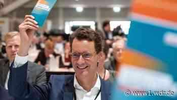 Wüst zum neuen CDU-Landesvorsitzenden in NRW gewählt