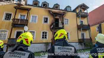Feuer-Tragödie in Bayern: Drei Frauen und ein Baby sterben - vier Menschen lebensgefährlich verletzt