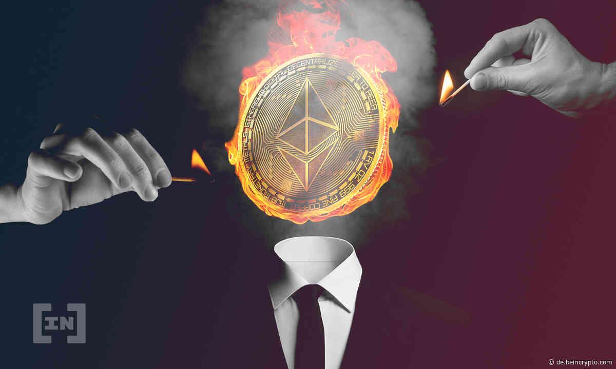 ETH Kurs fällt 10 % - stürzt der Ethereum Kurs jetzt ab? - BeInCrypto Deutschland
