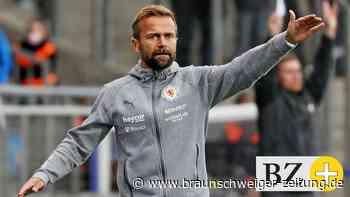 Wie Eintracht-Coach Michael Schiele den TSV Havelse erwartet
