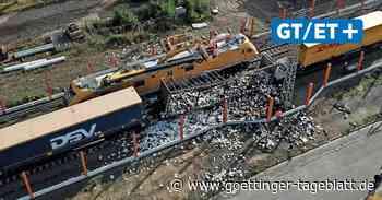 Sarstedt: Güterwaggon gerät  in Brand – Bahnstrecke gesperrt