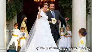 Prinz Philippos von Griechenland & Nina Flohr: Royale Traumhochzeit in Athen