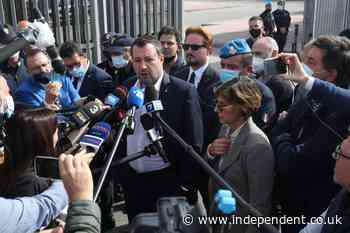 Matteo Salvini: Italian ex-minister faces kidnapping trial for blocking migrant ship from docking