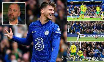 Chelsea: Joe Cole lauds Mason Mount as 'one of the outstanding players in the country'